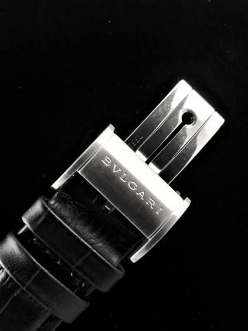 BVLGARI 寶格麗 雙簍空透明 Automatic 33mm