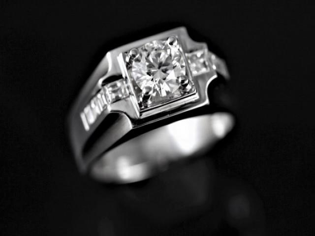 鑽石男戒 - 0.91ct