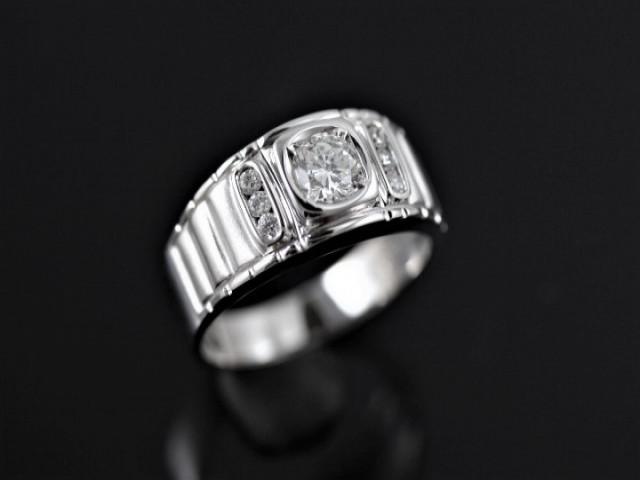 硬派系鑽石戒指 - 0.53ct