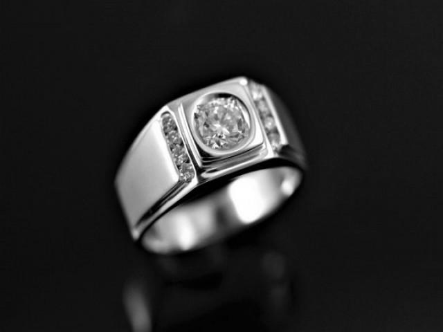 素面鑽石戒指 - 0.58ct