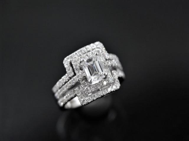 GIA鑽石戒指 - 1.01ct D VS2 Pt900鉑金豪華戒台 優質美鑽 GIA雷射編號