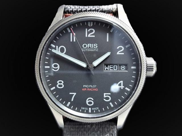 ORIS 豪利時 PROPILOT 飛行手錶 45mm 2018年保單 未配戴過 幾乎全新品 附贈代用錶帶