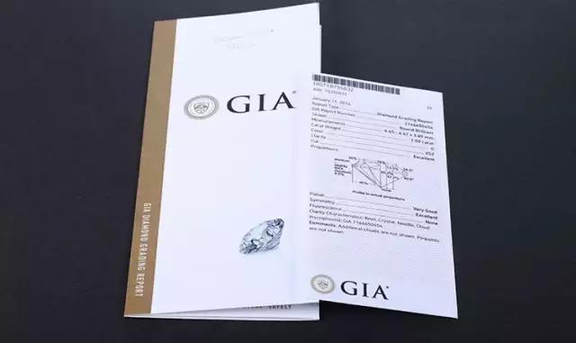 大家知道怎麼看GIA證書嗎