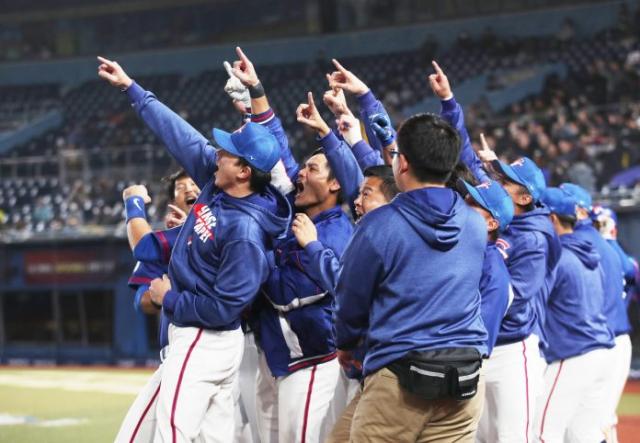 中華隊7:0完封南韓...